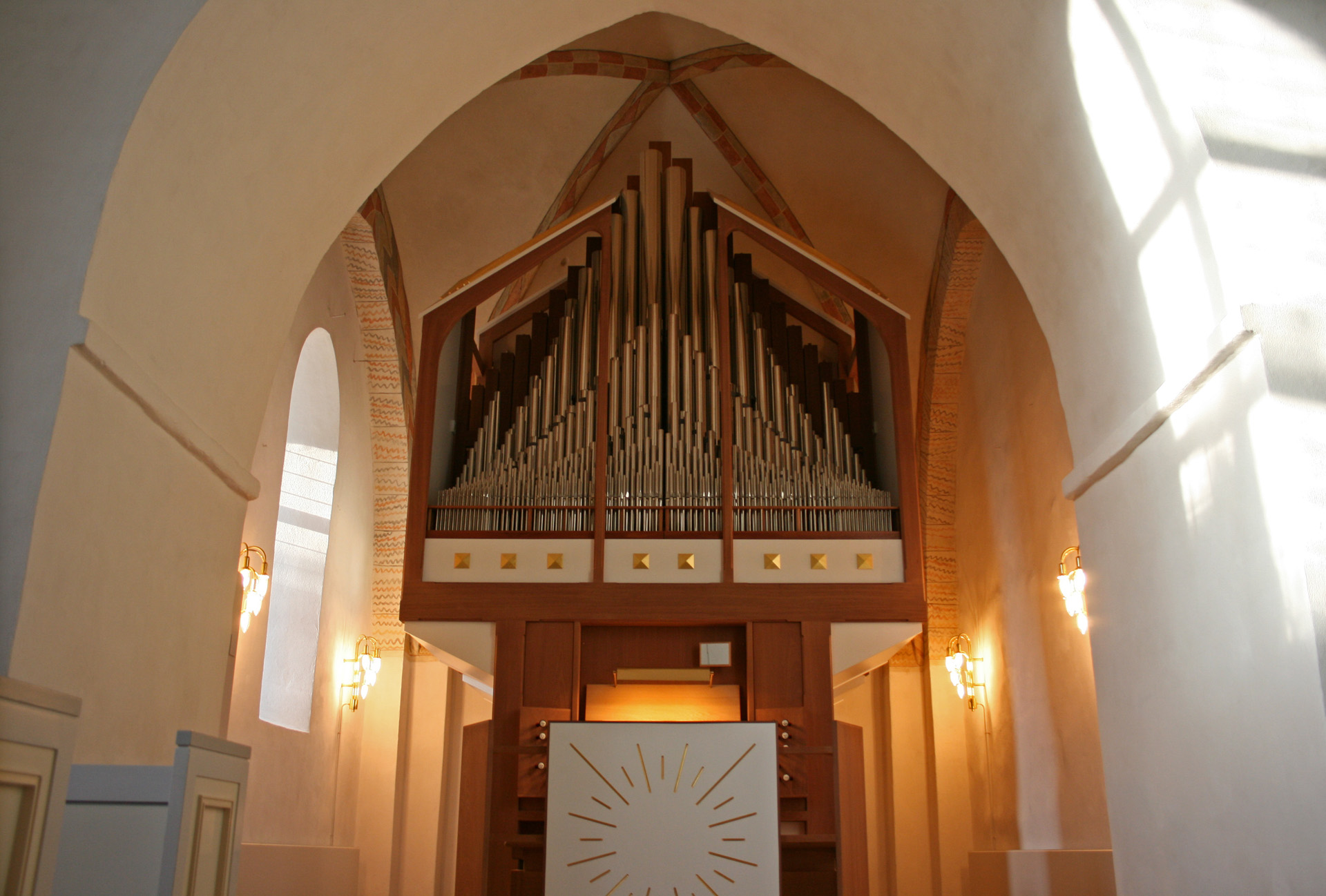 The Pipe Organ in Jørlunde Church
