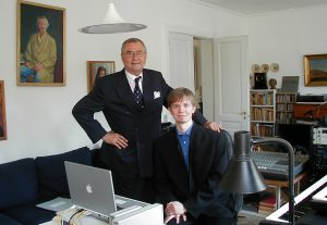 Prince Henrik and Frederik Magle