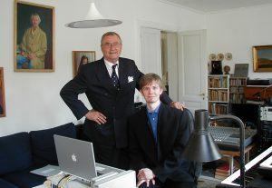Prins Henrik og Frederik Magle