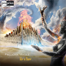 Like a Flame album cover - Frederik Magle