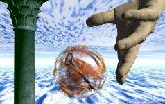 Secret Key in Translucent Ball..jpg