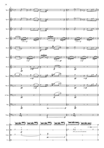Fanfare and Anthem Skyward page 14 preview